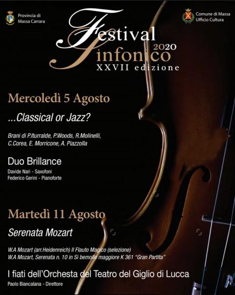 Manifesto Festival Sinfonico