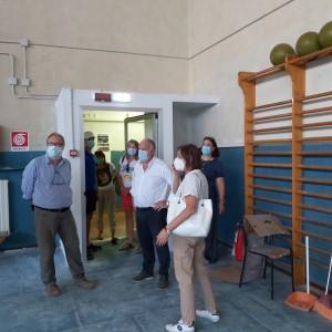 Sopralluogo scuole Carrara