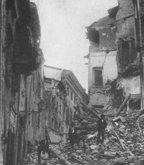 Terremoto Lunigiana 1920