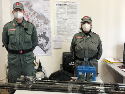 Polizia Provinciale Operazione Antibracconaggio