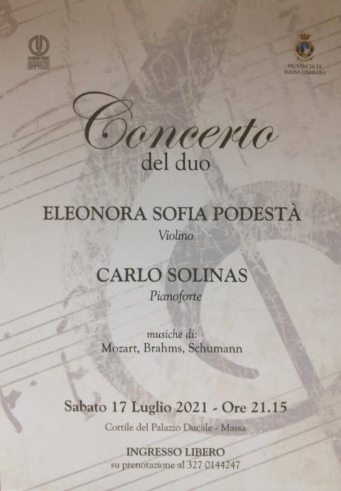 Concerto Diapason Palazzo Ducale 17 Luglio 2021